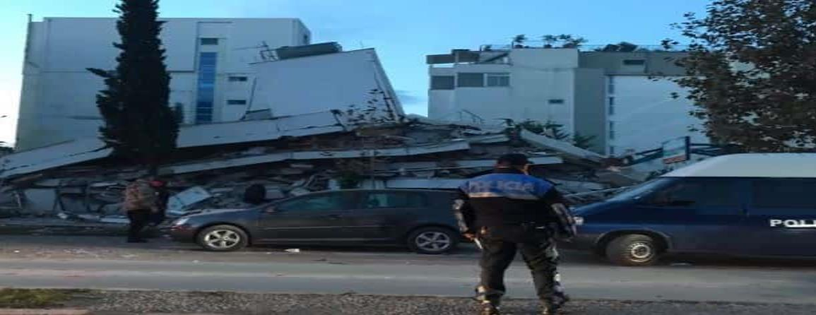 Sismo magnitud 6.4 azota Albania, se reportan graves daños