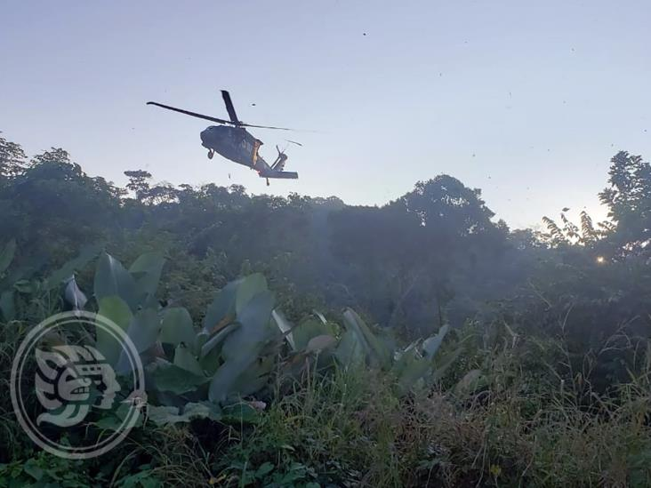 En operativo militar, aseguran droga en Minatitlán; tres detenidos