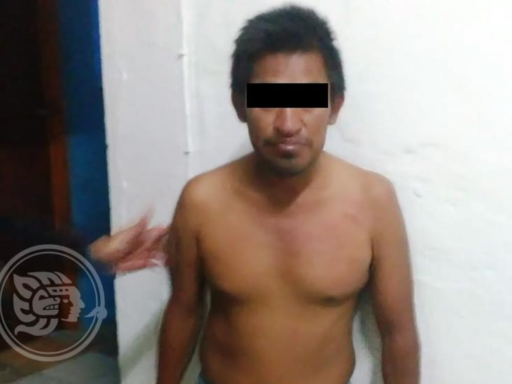 Dos presuntos delincuentes detenidos por SSP en Acayucan