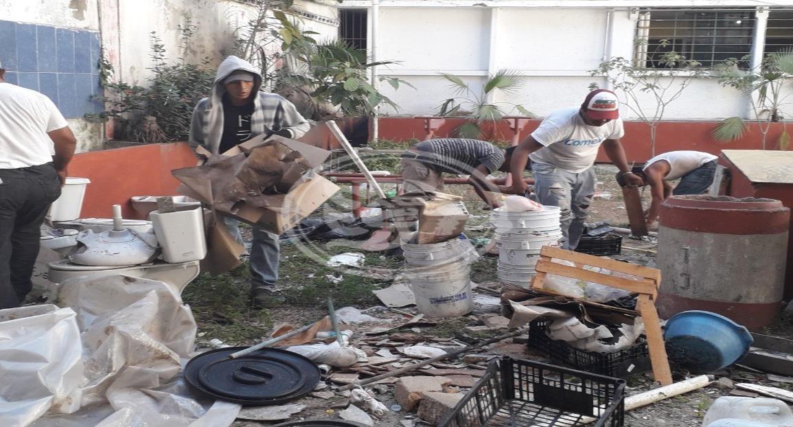 Recolecta Limpia Pública casi 600 toneladas de cacharros