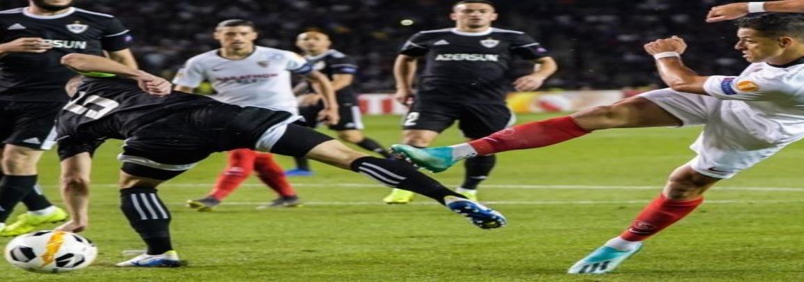 Chicharito y Sevilla siguen invictos en Europa League