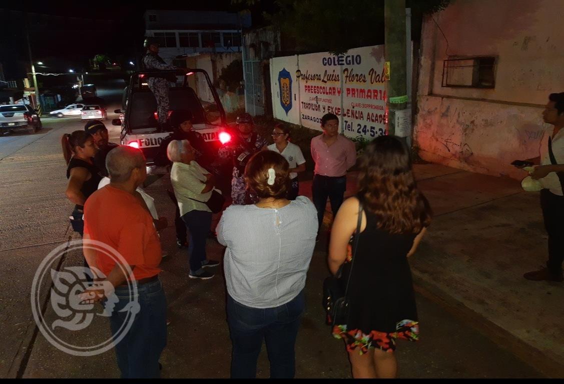 Roban vivienda de pareja de regidor en Acayucan