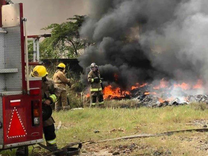 Castigarán a responsables por incendios en Minatitlán, advierte PC
