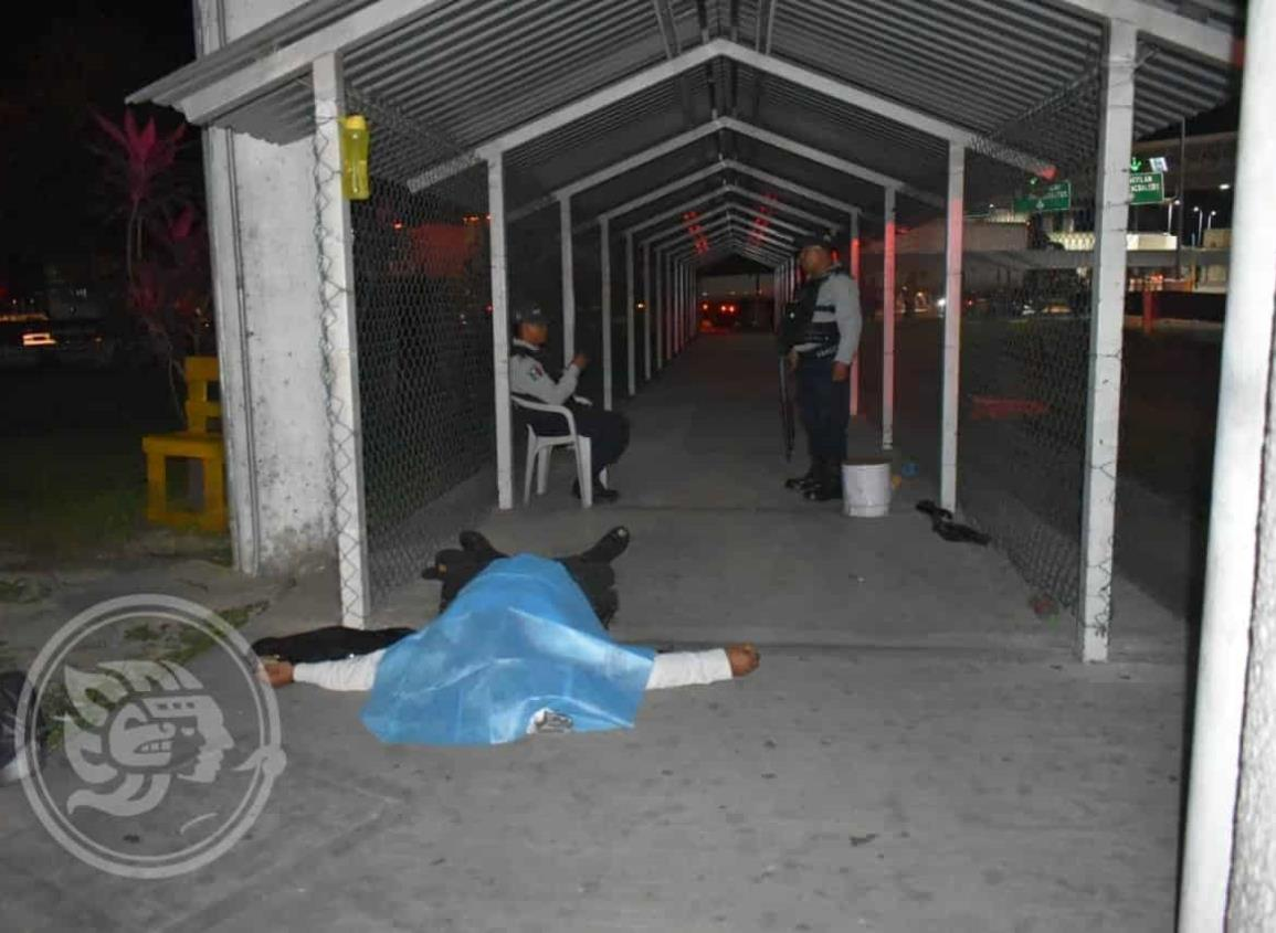 Elemento del IPAX mata por accidente a su compañero en Acayucan