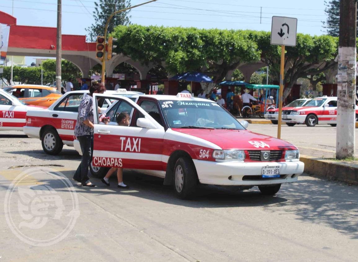 Derrama económica de diciembre, esperanza de taxistas choapenses