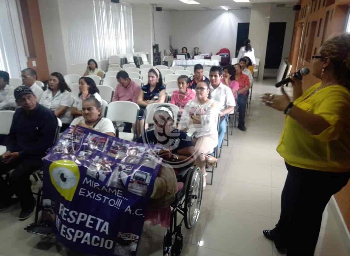 Celebraron 'Día Internacional de personas con discapacidad' en Minatitlán