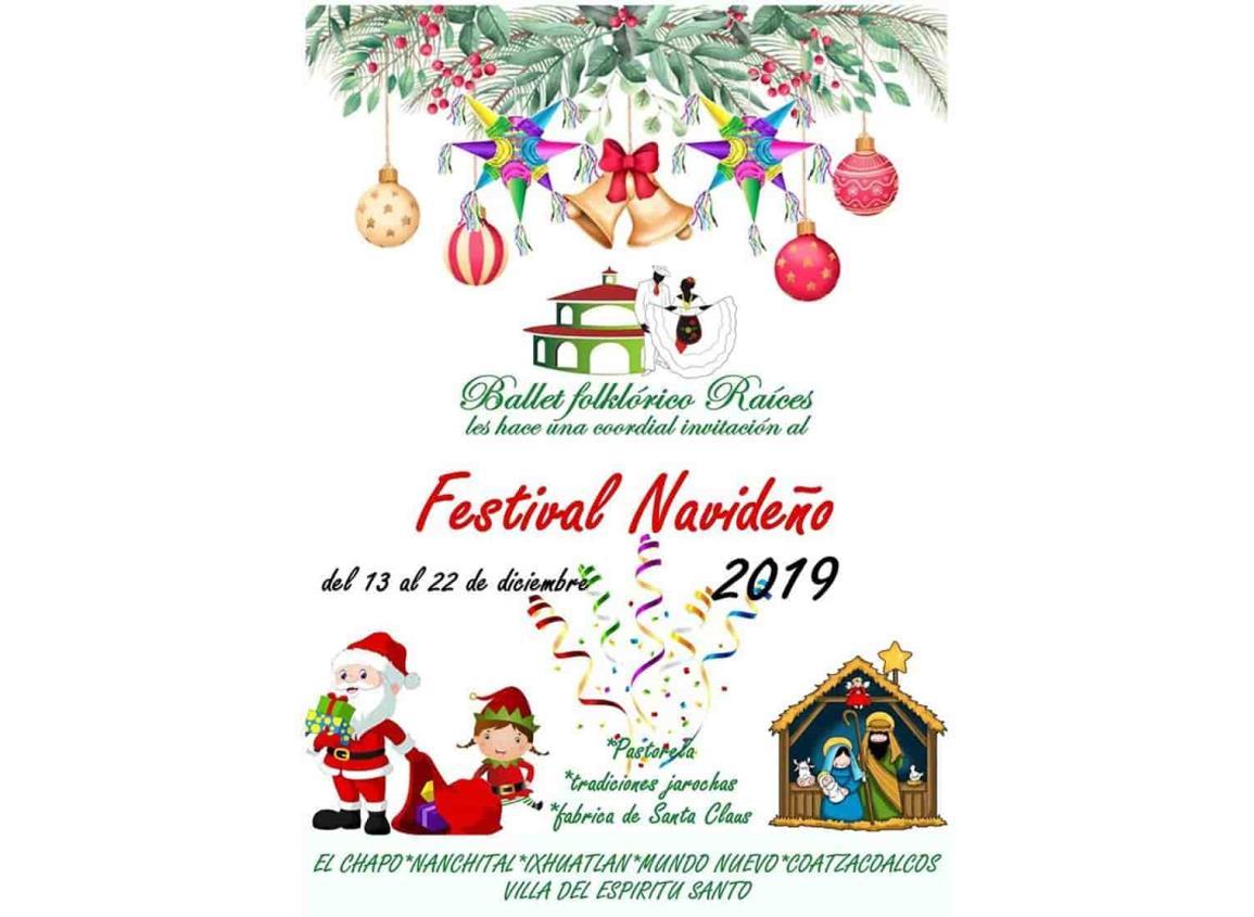 Ballet folclórico de Nanchital, de gira en el sur con Festival navideño