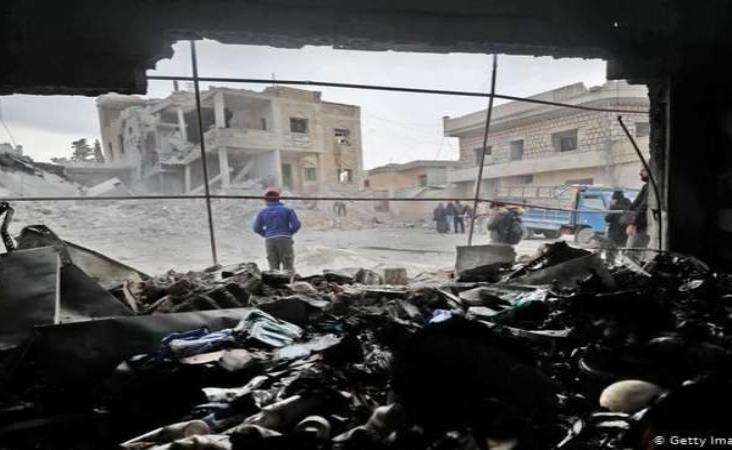 Al menos 96 personas murieron en combates en las últimas 48 horas en Siria