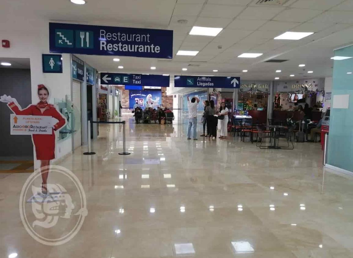 Aeropuerto de Minatitlán mantiene afluencia de 12 mil 800 pasajeros por mes