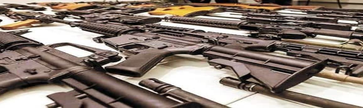 México entregó a EU más de seis mil registros de tráfico de armas