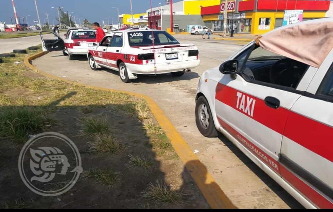 Taxistas piden actualizar perímetros de Coatzacoalcos