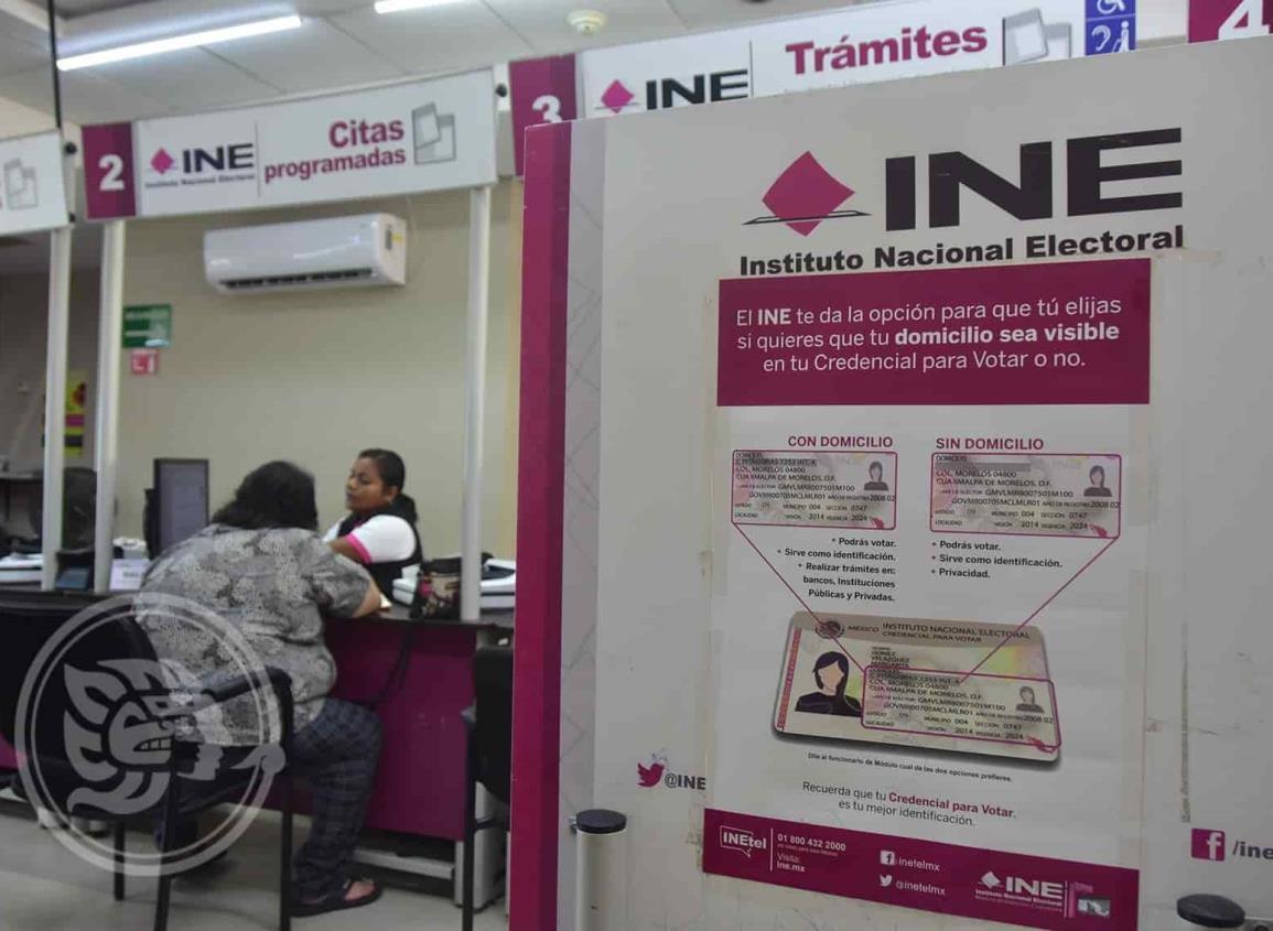 Más de 7 mil ciudadanos de 4 municipios necesitan cambiar su INE