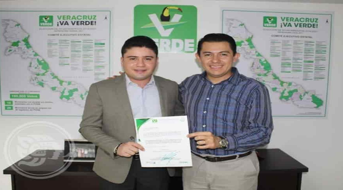 Nombran delegado regional del PVEM a Cirilo Vázquez