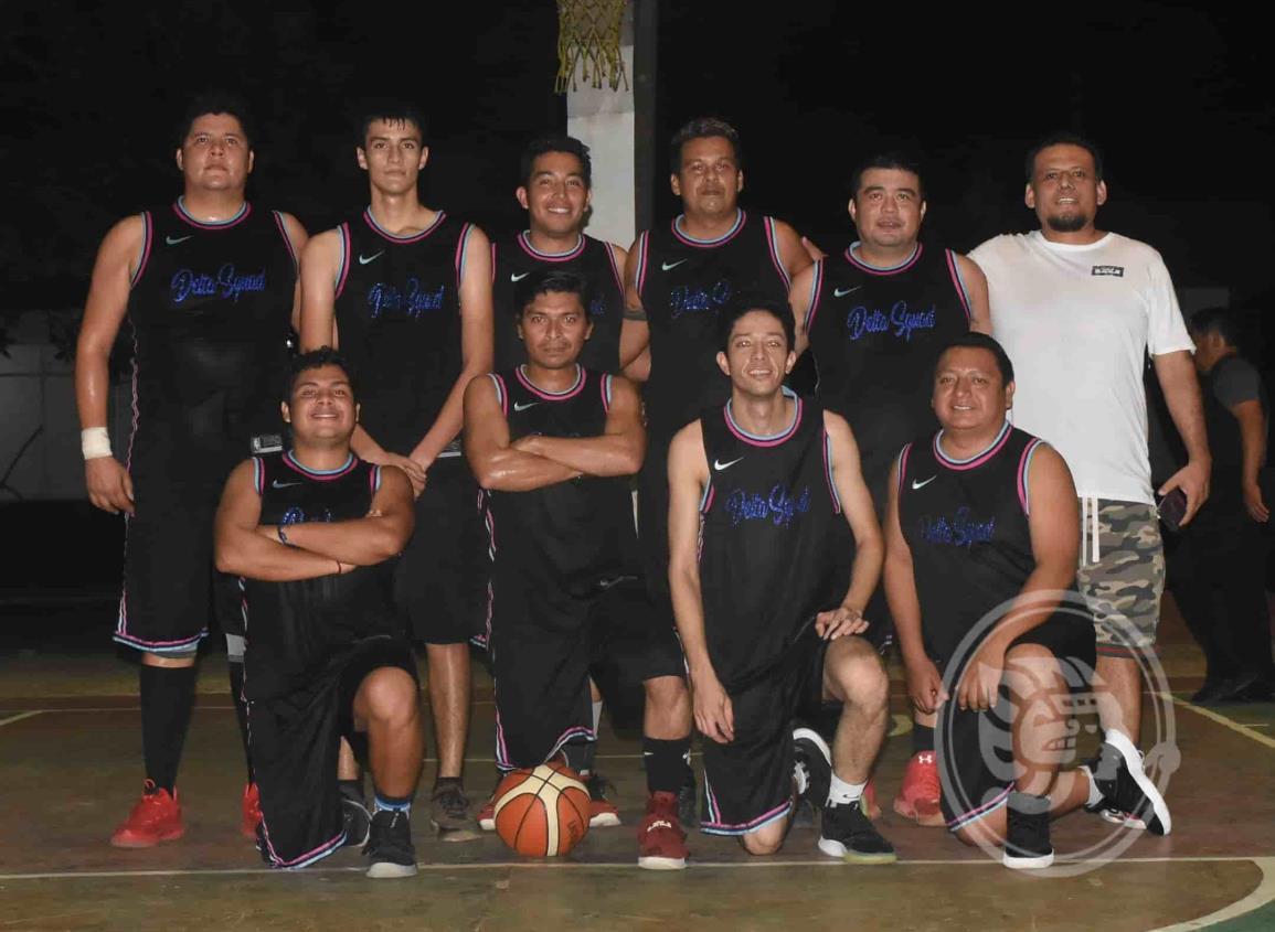 """Delta Squad """"desplumó"""" a Cuervos en basquetbol"""