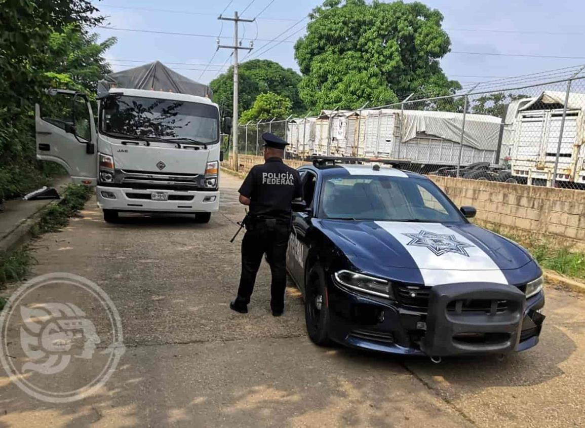 Captura PF a presunto asaltante en carretera de Acayucan