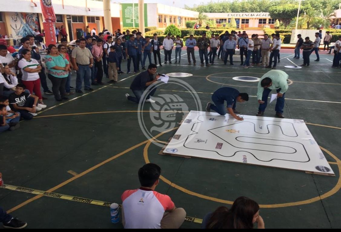 ITS de Las Choapas, fue sede del evento nacional de robótica
