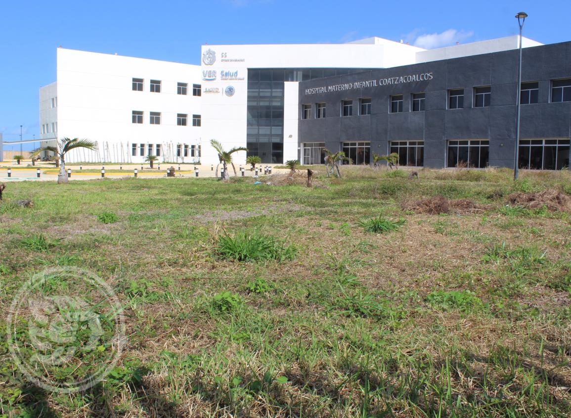 Previo a su inauguración; Hospital Materno-infantil sufre visible deterioro