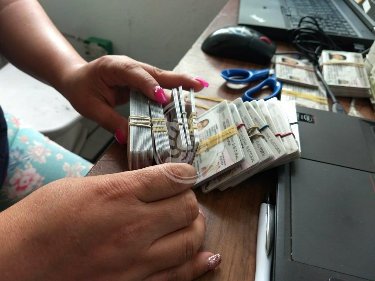 Destruirá INE más de dos mil credenciales en el norte de Veracruz