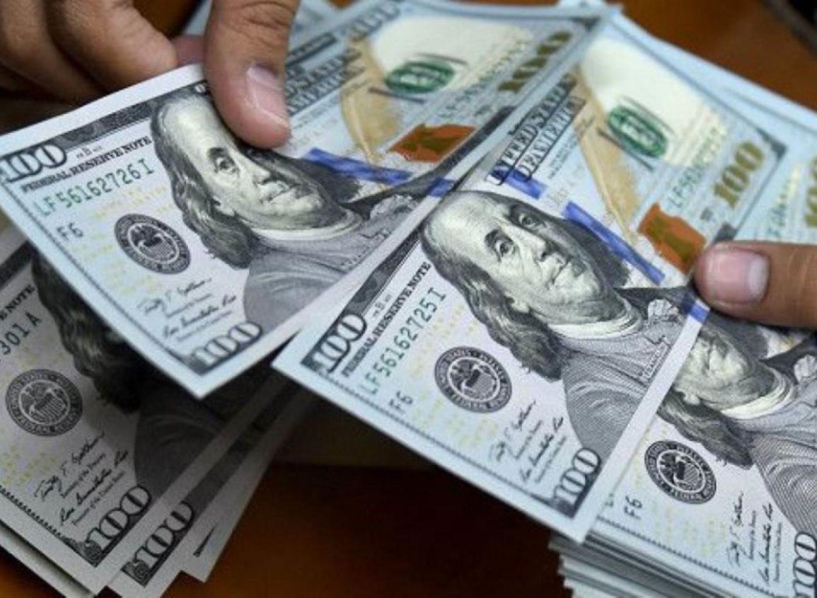 Dólar baja al inicio de la jornada ante alza del precio internacional del cobre