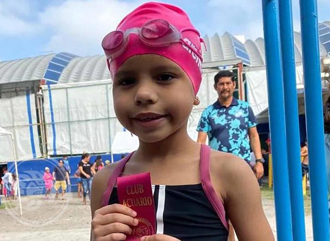 Camila Sánchez forja su historia en natación
