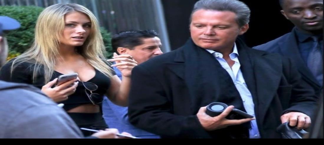 Luis Miguel se deja ver en Miami junto a su novia