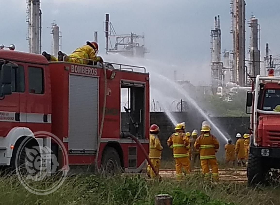 Efectuarán simulacro de incendio en Complejo Cosoleacaque
