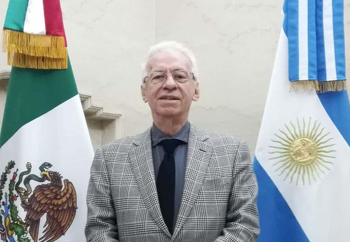 Por motivos de salud, renuncia embajador de México en Argentina