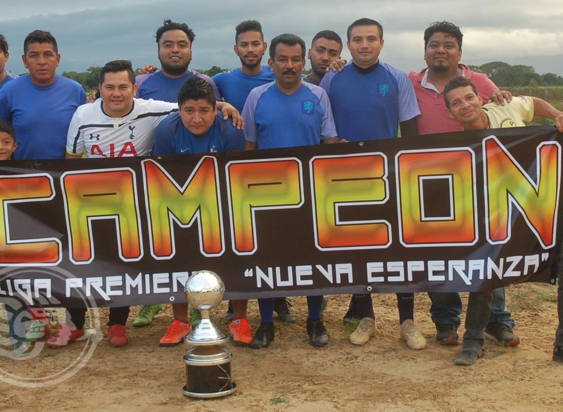 Huevos Crío es el campeón del futbol de la Nueva Esperanza