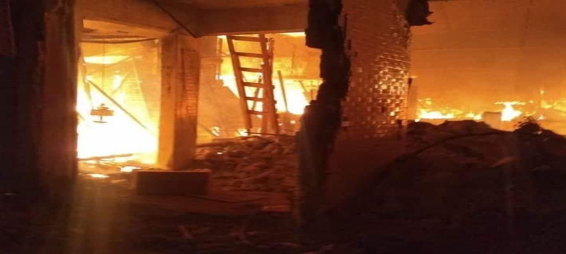 Dos muertos y 600 locales consumidos tras incendio en mercado La Merced