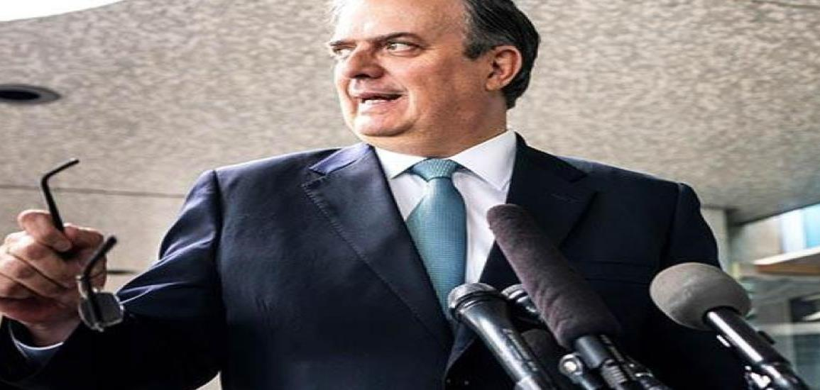 Ebrard: Ante insultos a México se impone la unidad en defensa del derecho internacional