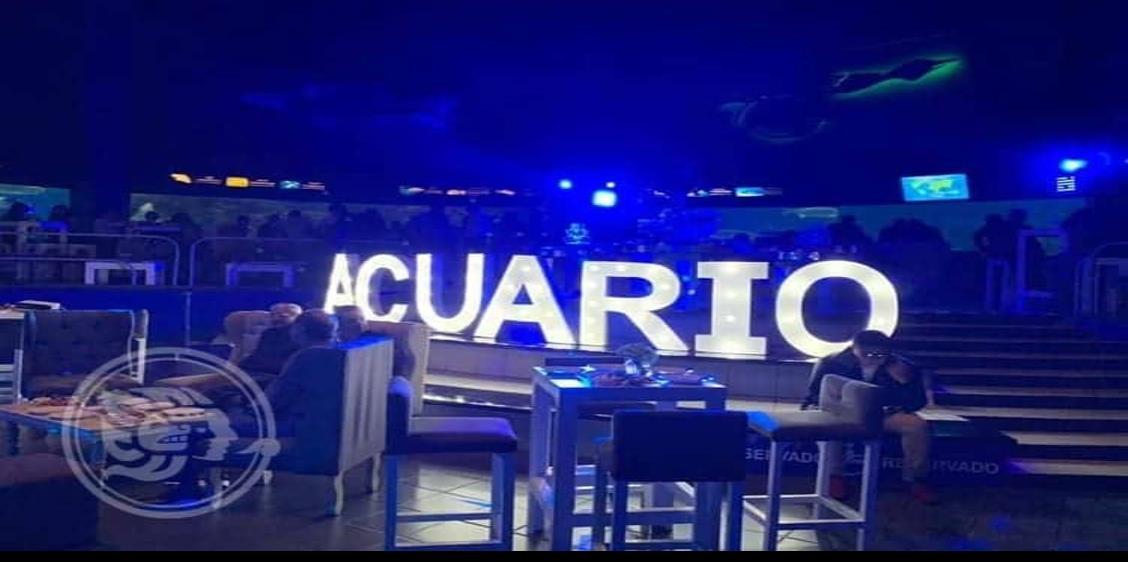 Festejo de aniversario afectó a especies del Acuario de Veracruz