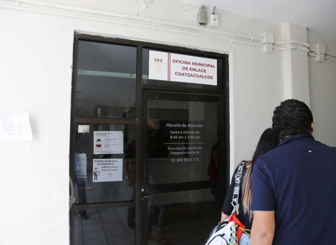 No cesan los trámites de pasaportes en Coatzacoalcos