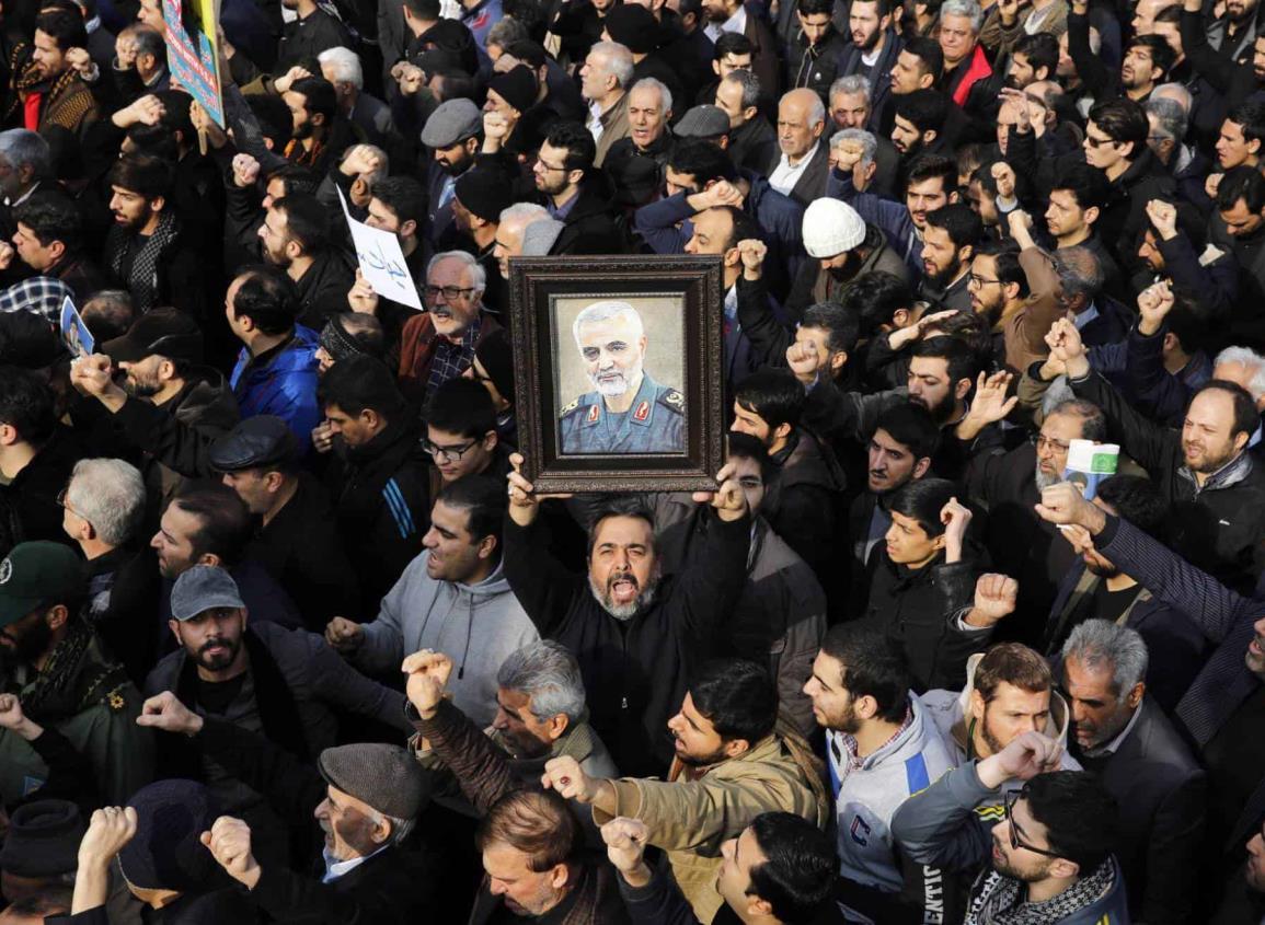 Se desata alarma global por muerte de general iraní