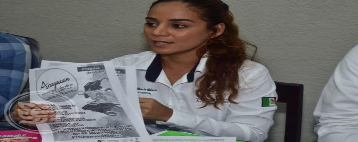 Suspensión de uso de plástico es voluntario en Acayucan
