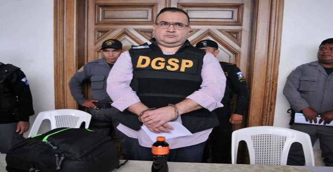 Rechazan solicitud de arraigo domiciliario a Javier Duarte
