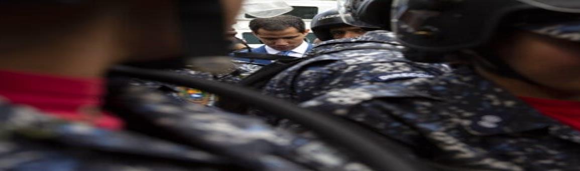 Guaidó es sustituido como presidente de Asamblea venezolana