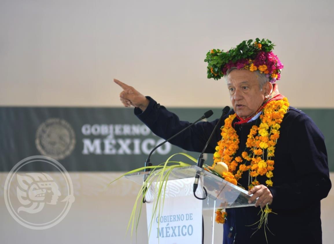 Implementar forma de trabajo de Oaxaca, aconseja AMLO a Cuitláhuac
