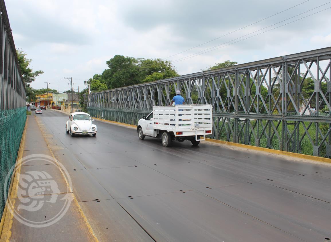 Será reforzado el puente Abulón de Agua Dulce