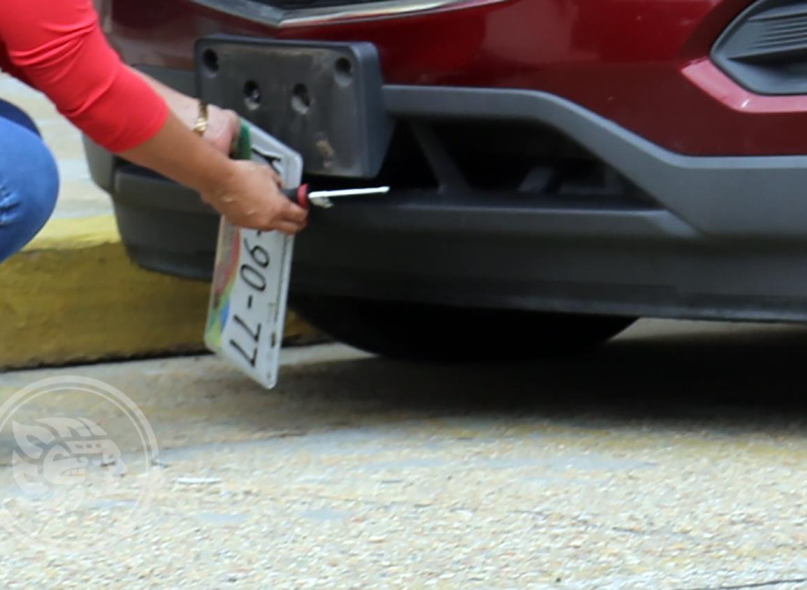 Instalarán módulo de placas en Carranza y Azueta