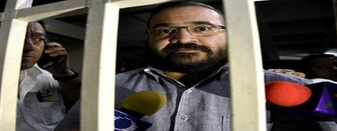 Javier Duarte seguirá en Reclusorio Norte; concluye juicio de amparo