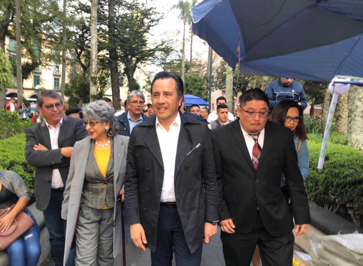 Rechaza Cuitláhuac posible renuncia al cargo; se les va a cebar a quienes piensan así