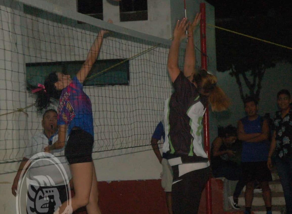 Actividad fuerte en la fecha 12 del voleibol de Jáltipan
