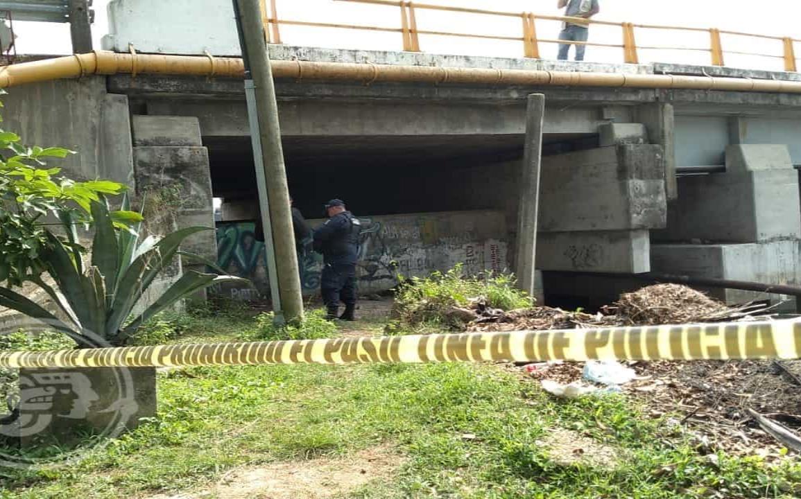 Localizan cadáver bajo el puente Calzadas