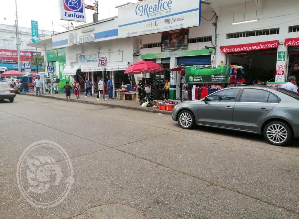 Ambulantaje inundan avenidas céntricas de la ciudad