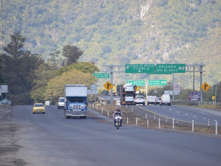 Muere atropellado a un costado de la Puebla-Córdoba