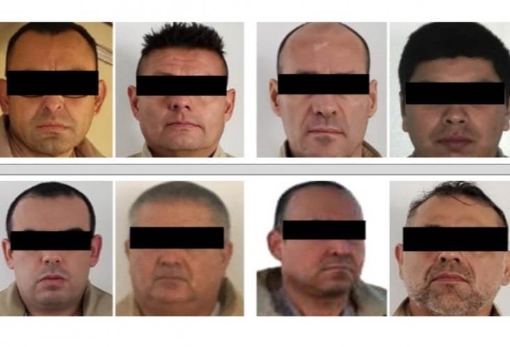 México entrega en extradición a 8 reos requeridos por EU