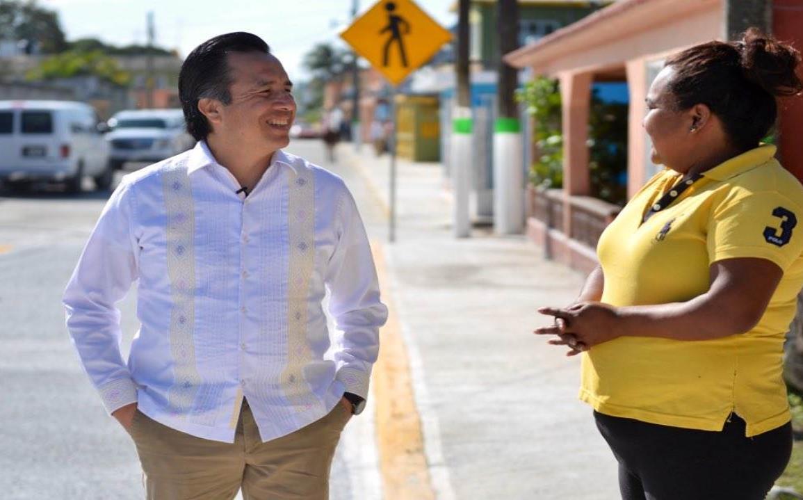 Anuncia Cuitláhuac mayor inversión para carreteras de la zona norte