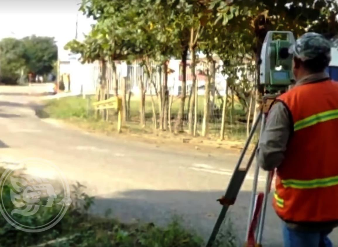 Inician trabajos en la carretera Hidalgotitlán- Minatitlán