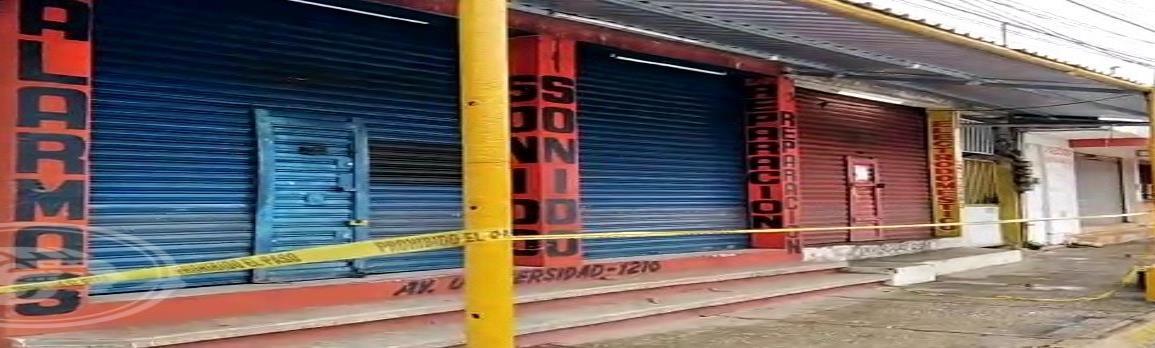 Delincuentes dan el noveno cortinazo del año en Coatzacoalcos