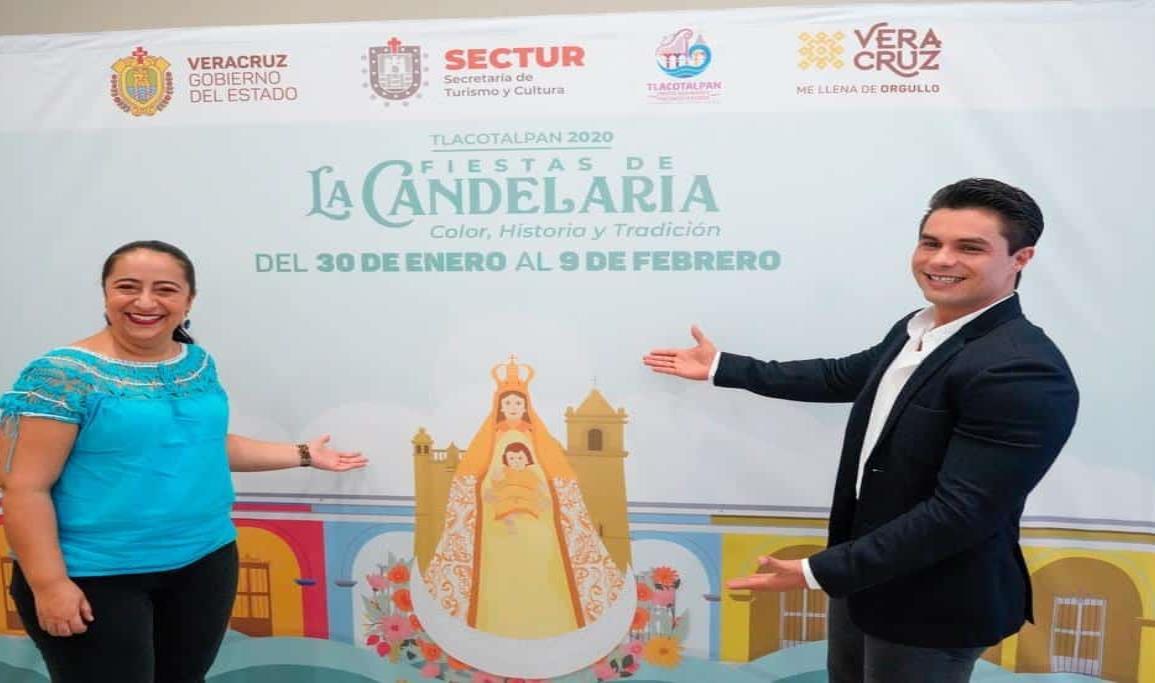 Presentan SECTUR y Tlacotalpan, Fiestas de la Candelaria 2020